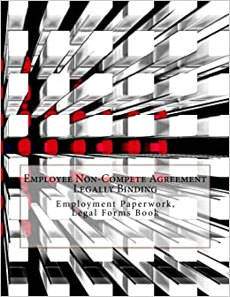 Employee Non Compete Agreement Legally Binding Employment