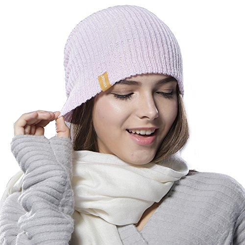Lightpink Unisex Slouchy Ski Wool Cap YANIBEST Adult Skull Hat Knit Beanie Pq5xSgCnwv