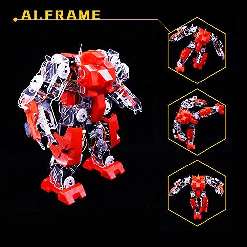 Hot AI.Frame Apollo Robot Toys - Remote Control Toys Robot Kit - Arduino Robot free shipping