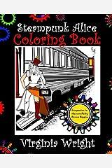 Steampunk Alice Coloring Book Paperback
