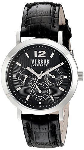 Versus-by-Versace-Unisex-SOR010015-Manhasset-Stainless-Steel-Watch-with-Black-Leather-Band