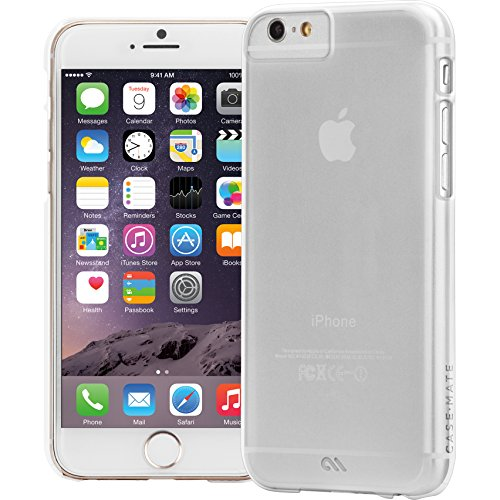 Case-Mate Barely There Case for iPhone 6/6s - Clear (Case Mate Barely There Case Iphone 6)