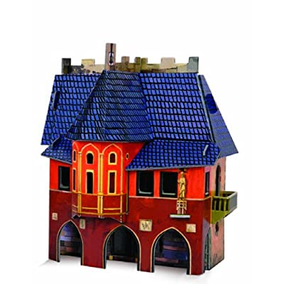 Clever Paper Town Hall with Figures: Toys & Games