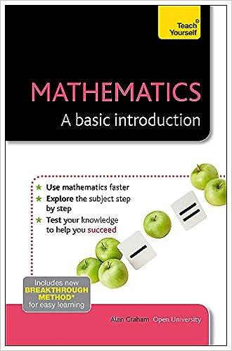 Mathematics-A Basic Introduction: A Teach Yourself Guide