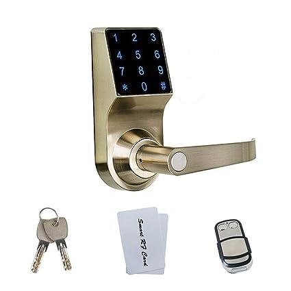 Cerradura Electrónica Inteligente Cerradura Digital De La Puerta Acceso con La Mano Derecha Código Sin Llave
