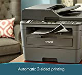 Brother Monochrome Laser Printer, Compact All-In