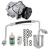 Saturn Vue A/C Compressors & Components - For Saturn Vue 2004 AC Compressor w/A/C Repair Kit - BuyAutoParts 60-80361RK New