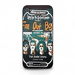 Hybird Different Design Fall Out Boy Phone Case Cover for Ihpone 5c Fall Out Boy Special Band