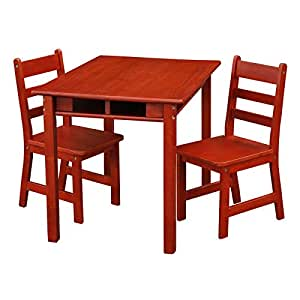 Amazon.com : Casual Home Kids Rectangle Table & Chair Set ...