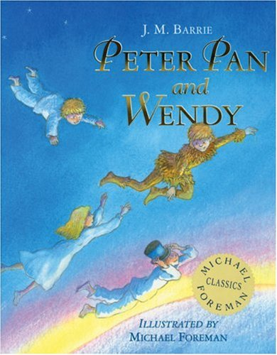 Book cover for Peter Pan and Wendy