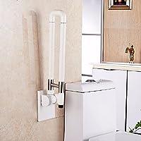 WAZZJ Antiskid Barrier Folding Armrest; Old Man; Disabled Person; Bathroom  Handle; Toilet