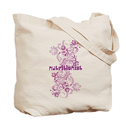 Cafepress–Nutritionist Gift–Borsa di tela naturale, tessuto in iuta