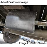 """TOTALFLOW 3.5"""" TF-J61 304 Stainless Steel Lap Joint Exhaust Muffler Clamp Band-3.5 Inch"""