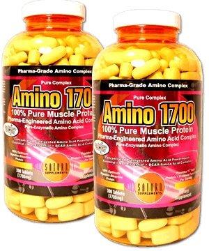 New Amino1700/Tri Complex-300Tables【サターンサプリメントから海外直送品】 New アミノ1700 300錠×パック (10) B00R1GO1ZQ