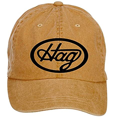 ZHENGXING Merle Haggard Country Music Logo Men's Cotton Washed Baseball Cap Velcro Adjustable One Size Hats (Flick Hat)