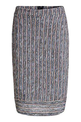 edc by Esprit In Bouclé-optik - Falda Mujer Azul (Navy 400)