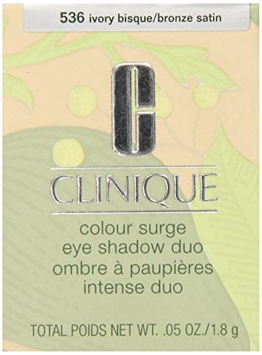 Clinique Colour Surge Eye Shadow Duo Ivory Bisque/Bronze Satin