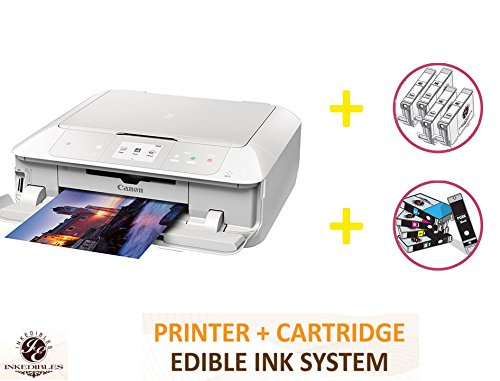 YummyInks Brand DELUXE PACKAGE 1: YummyInks Brand CANON PIXMA MG7720 BUNDLED PRINTING SYSTEM - INCLUDES EXTRAS