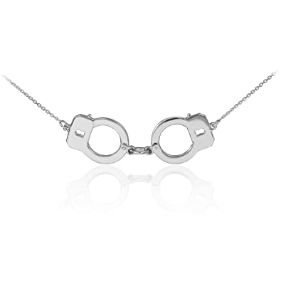 Amazon sterling silver handcuff necklace 16 inches pendant sterling silver handcuff necklace 16 inches aloadofball Image collections