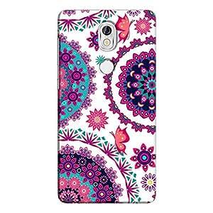 Cover It Up - Flower Design White nokia 7 Hard Case
