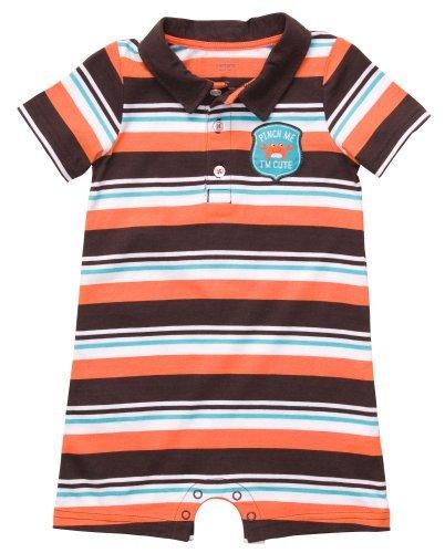 Carter Baby Boys - Conjunto de Polo-style Body (24 meses, Naranja ...