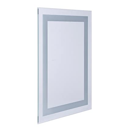 Aquariss 700 X 500mm Illuminated Led Bathroom Mirror With Demister