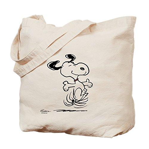 Shopping Canvas Dancing Bag Dog Natural Tote CafePress Snoopy Cloth Bag xOIvq8xH