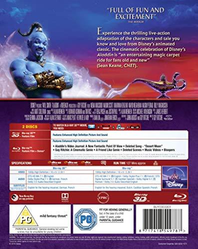 Aladdin [3D + Blu-ray] [2019] [Region Free]