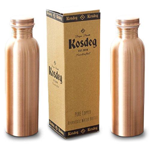 Kosdeg Copper Water Bottle