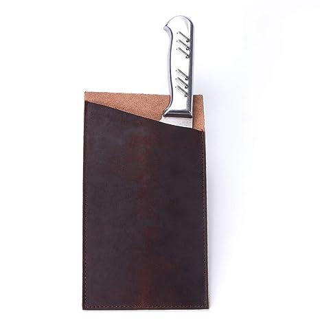 TUYU TYDB405 - Funda de piel para cuchillos de chef (9 ...