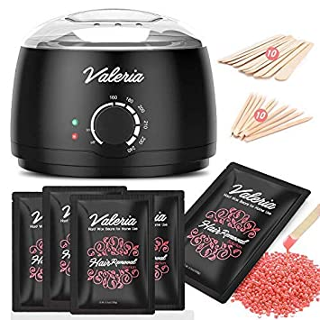 Amazon Com Yeelen Wax Warmer Hair Removal Waxing Kit Wax Melts 4