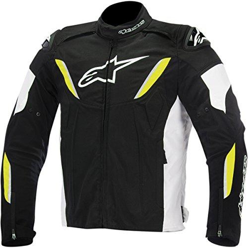 Alpinestars t-gp Plus R impermeable de los hombres calle–Chaquetas de Moto Blanco/Negro/Amarillo,...