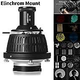 AMBITFUL AL-16 Elinchrom Mount Optical Focalize Condenser Beam Light Cylinder Optical Focalize Art Photography Light Cylinder