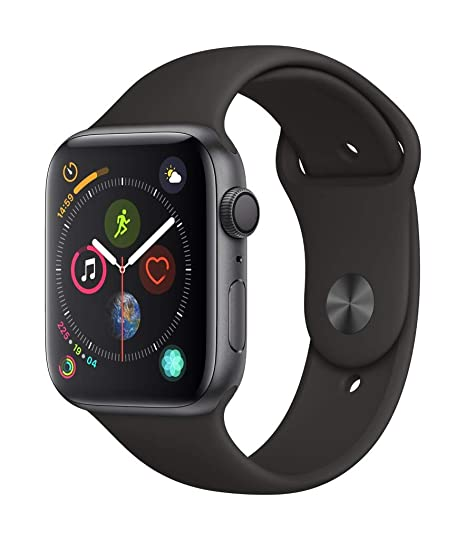 factory authentic new lower prices release date: Apple Watch Series 4 (GPS, 44mm) - Space Grey Aluminium Case ...