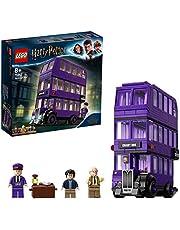 LEGO 75957 Harry Potter De Driedubbele Collectebus, Verzamelset met Minifiguren, Speelgoed voor Kinderen van 8 Jaar en Ouder