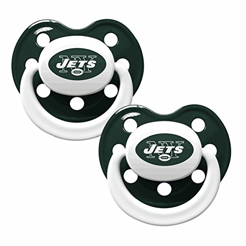 Baby Fanatic Fanatic Baby Pacifiers 2-Pack - New York Jets