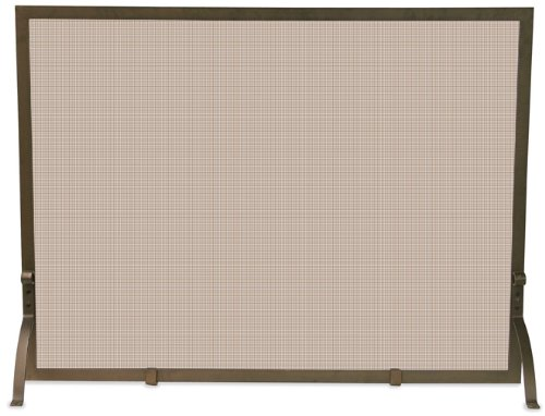 Uniflame, S-1642, Single Panel Bronze Screen