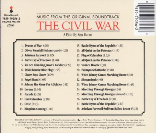 Various Artists - The Civil War - Amazon.com Music