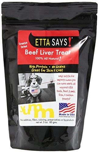 Etta Says! 2.5-Ounce Freeze-Dried Treats, Beef Liver