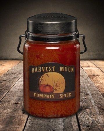 Pumpkin Spice 26oz Jar Candle - Pumpkin Glass Spice Candle