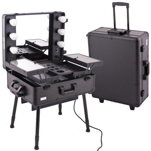 Amazoncom Black Pro Studio Aluminum Professional Makeup Artist