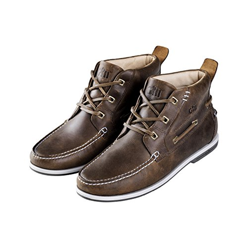 Gill Auckland Deck Boot in Brown 930