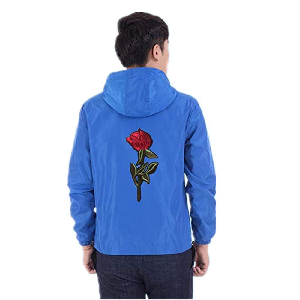 iYYVV Womens Fashion Light Full Zipper Hooded Jacket Casual Slim Fit Pocket Coat