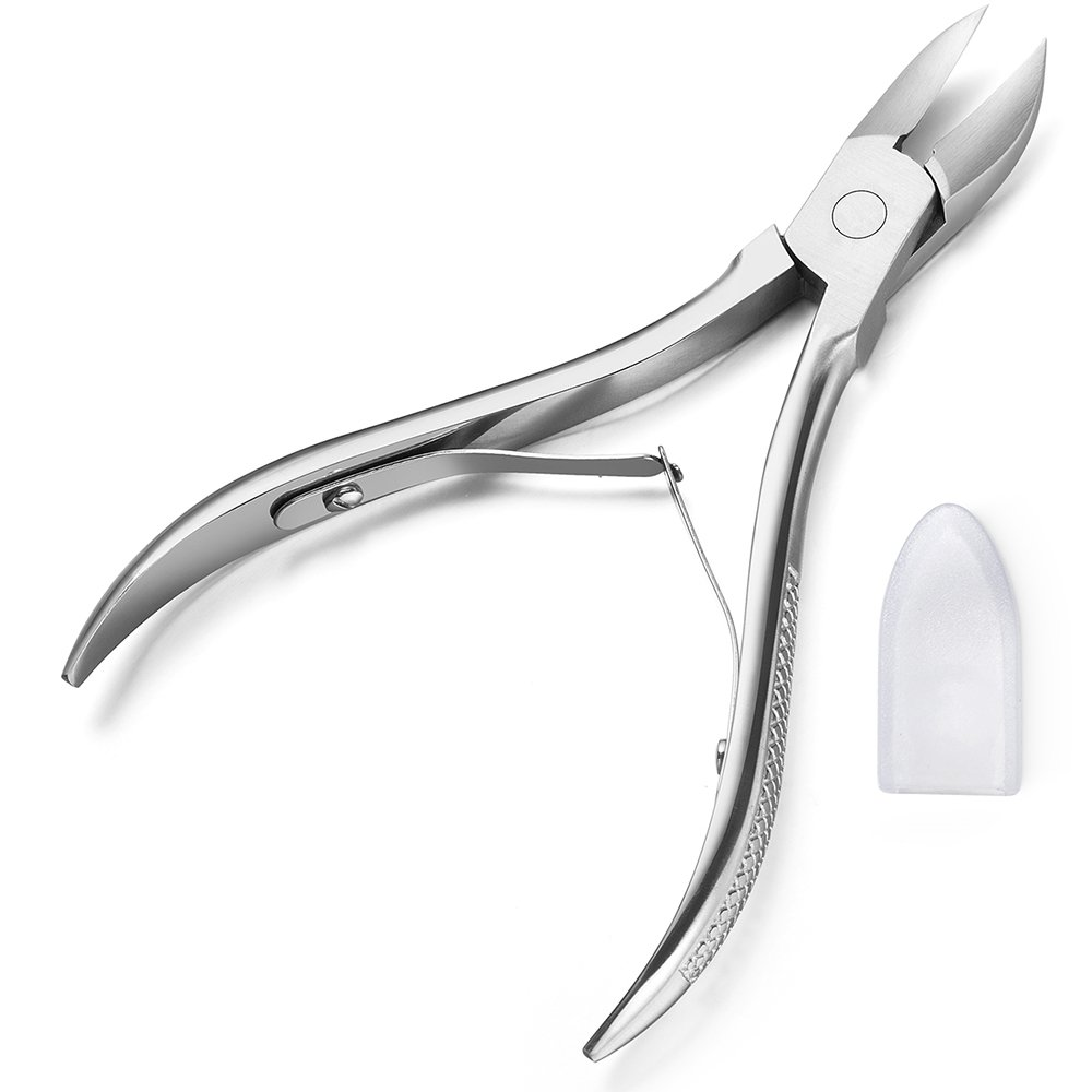 Amazon.com: Nail Nipper for Thick and Ingrown Toenails (with Double ...