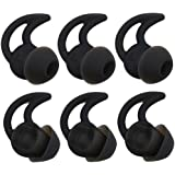 Bose Replacement Noise Isolation Silicone Ear Tips 3-Pairs Large Earbuds for Bose in-Ear Wired Earphones Fit Bose QC20…