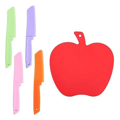 Compra LegendTech - Cuchillo de Cocina de plástico para ...