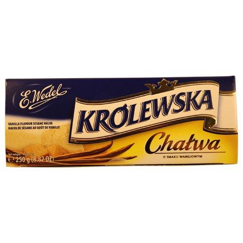 E. Wedel Halva Krolewska, Vanilla,8.82 oz