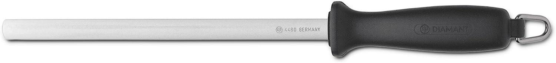 Amazon Com Wusthof Diamond Sharpening Steel 23 Cm Boxed Knife Sets Kitchen Dining