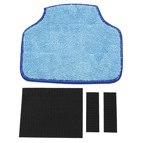 (EzHome Washable Mop For Neato XV-11 XV-12 XV-14 XV-15 XV-21 Botvac 70e 75 80 85 Dry/Wet Cleaner Mopping Cloth Cleaning)