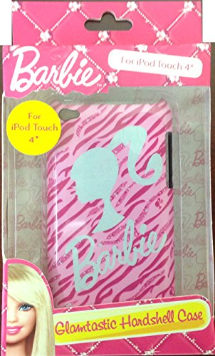 Barbie Back Cover for iTouch 4 - Retail Packaging - Pink (Ipod Touch Barbie Case)